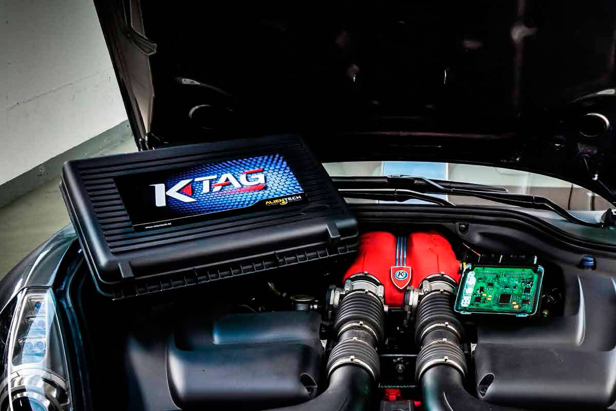 K-TAG Engine and Automatic Transmission Programmer- K-TAG