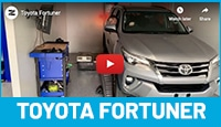 Toyota Fortuner Tuning